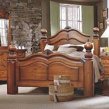 Brazil Furniture Group Lumberland Post Bed with Fluted Posts