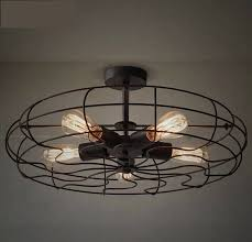 quality most popular loft bird cage ceiling fan led l