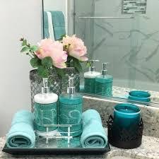 badezimmer deko türkis wohnung badezimmer dekoration