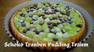 schoko trauben traum leckere pudding trauben torte no bake wen es mal schnell gehen soll