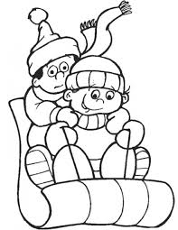 Free Printable Winter Coloring Pages For Kids With January