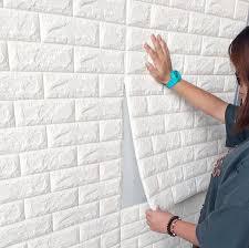 3d ziegel stein pvc selbstklebende wand aufkleber panel