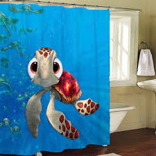 Squirt Finding Nemo Shower Curtains from LeatriceCurtain on Etsy