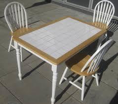 tile top kitchen table trendyexaminer