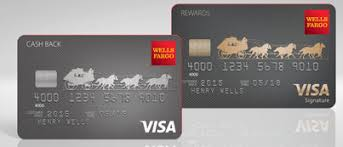 What are the Wells Fargo credit card designs