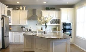 Paint Colors For Kitchen Cabinets And Walls by Kitchen Wall Paint Colors With White Cabinets Mecagoch