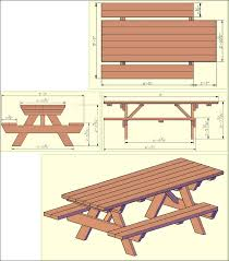Outdoor Table Plans Free by Exteriors 6 Sided Picnic Table Picnic Table Art Picnic Table