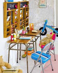 bureau enfant metal bureau d écolier chambre fille plateau bois pieds métal