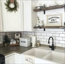 large white subway tile backsplash