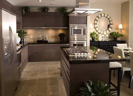 Kitchen Contemporary Cabinets Furniture Elegant
