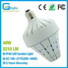 125w 120v mercury vapor light bulb replacement 40w stubby l