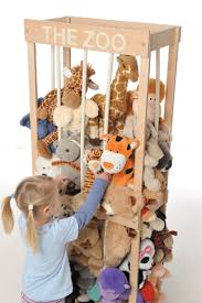 The Zoo Soft Toy Storage 5 Put All Animals In