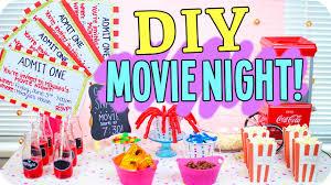 DIY Movie Night Snacks Decor More