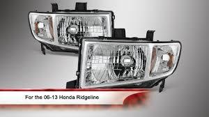 06 13 honda ridgeline headlights
