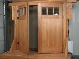 Swing Out Carriage Garage Door Opener