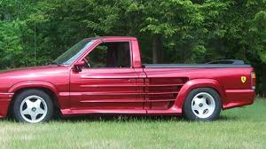 For $8,500, This Custom 1989 Mazda Pickup Is Your Faux-rrari Fantasy Lowrider Custom Pickup Mazda B2200 Wchevy Smallblock 350 1984 Mazda B2200 Diesel Pickup Ac No Reserve Diesel 40 Mpg Bseries Pickups Base 1974 Rotaryengine Usa The Repu Was T Flickr Questions What Other Kind Of Motor Will Fit Inside 1990 Cab Plus Truck Item F6681 Sold 1993 H8905 August 18 1987 B2000 Lx Standard 2door 20l Excellent Cdition 1999 Bseries Photos Informations Articles Logan Auto Sales 1989 Hamilton Al