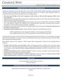 Executive Resume Samples | Professional Resume Writer NY