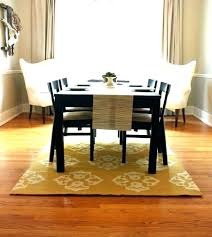 What Size Rug Under 60 Inch Round Table Dining Room