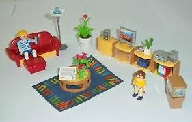 playmobil 4282 sonniges wohnzimmer komplett m bauanleitung