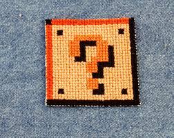 Mario Bros Question Block Lamp by Mario Bros Question Etsy