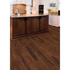 Trafficmaster Glueless Laminate Flooring Benson Oak by Home Legend Distressed Barrett Hickory 3 8 In T X 3 1 2 In 6 1