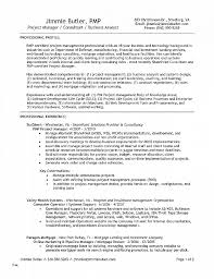 Project Management Resume Template New Configuration Specialist Example Templates Custom
