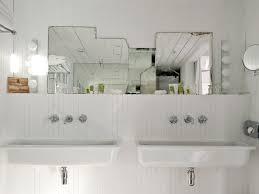Two Faucet Trough Bathroom Sink by Bathroom Trough Bathroom Sink With Two Faucets 26 Trough