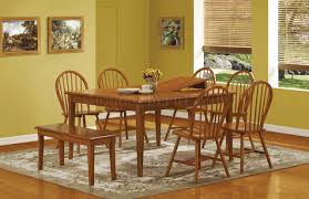 100 Dining Room Chairs With Oak Accents Casual Finish Country Style Dinette WChamfered