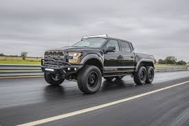 100 First Truck Ever Made Hennessey VelociRaptor 6X6 Hennessey Performance