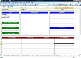 Project Log Template Excel Tutorials