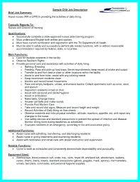 Restorative Nurse Assistant Job Description Resume Certified Nursing Examples For Of Resumes Templates Admissions Director Hospital