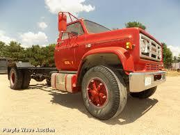 100 65 Gmc Truck 1985 GMC Sierra 7000 Truck Cab And Chassis Item DA0717 S