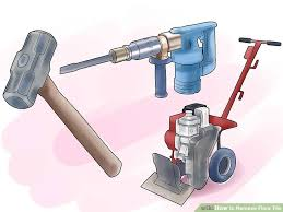 how to remove floor tile 8 steps with pictures wikihow