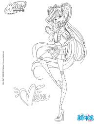 Bunch Ideas Of Winx Club Coloring Sheet 2017 For Your Download Resume