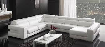 canapé d angle 7 places cuir canapé d angle contemporain en cuir 7 places et plus oscar