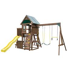 Amazon.com: Swing-N-Slide Chesapeake Wood Complete Play Set With ... Backyards Gorgeous Backyard Wooden Swing Sets Ideas Discovery Montpelier All Cedar Playset30211com The Set Accsories Monticello Walmart Itructions Big Appleton Wood Toys Photo With Amazing Unbeatable For Solid Fun Image Happy Kidsplay Clearance Playsets