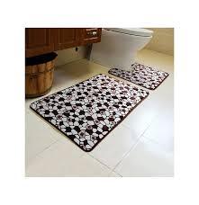 2pcs steinmuster wc boden teppichboden nicht beleg