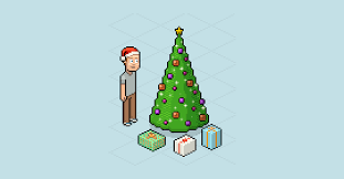 Graphic Design Animate A Pixel Christmas Scene Free Adobe Photoshop Tutorial