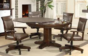 Seven Piece Dining Room Set by Mahogany And More Table And Chair Sets Gettysburg Chestnut Oak
