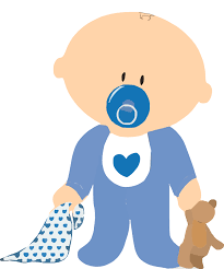 Baby Boy With Teddy Clip Art at Clker vector clip art online