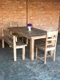 Diy Dining Table Bench And Plans With Storage