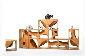 modern cat catable modern modular wooden furniture for cats