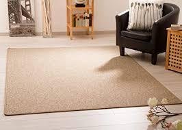 steffensmeier teppich meddon xl robuste schlinge für esszimmer küche flur hobbyraum büro in sand gut siegel größe 300x400 cm