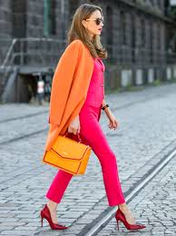 The Absolute Must Have For Cooler Time Of Year Has To Be Orange Coloured Cashmere Coat