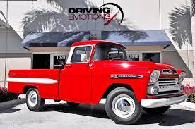 100 3 4 Ton Chevy Trucks For Sale 1959 Chevrolet Apache 6 Fleetside 6 Fleetside Long Bed
