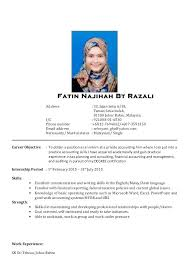 Resume Format Malaysia Inspirational Sample Doc How To Write A Perfect Internship 2015