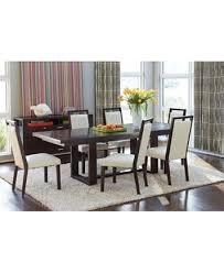 belaire white 7 piece dining room furniture set furniture macy s