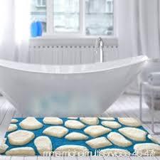 de bain casa pura patty bleu blanc ultra doux tailles au choix