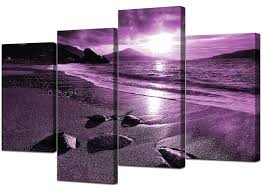 15 Best Collection Of Purple Wall Art Canvas