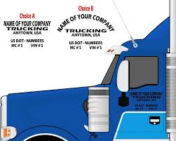 SEMI TRUCK DOOR LETTERING - Your Company Name + Town & State +DOT ... Mc Numbers Going Away In October 2015 Photos Retro Rod Buildoff Blue Ridge Tm Llc Mc Authority Usdot Trucking Are You Looking For Truck Driver Traing In Brisbane We Are Clean Green Simarco Optimise Uptime Thanks To Truck Bus Hc Drivers Wanting Changeovers Linehaul Drivers Based Equipment Express 22218 Dot Pin Video 3 Getting Own What Is Hot Shot The Requirements Salary Fr8star J Van Kampen Tnsiam Flickr America Transport About Facebook